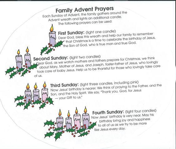 advent prayer and families on pinterest. Black Bedroom Furniture Sets. Home Design Ideas