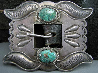 nice old belt buckle