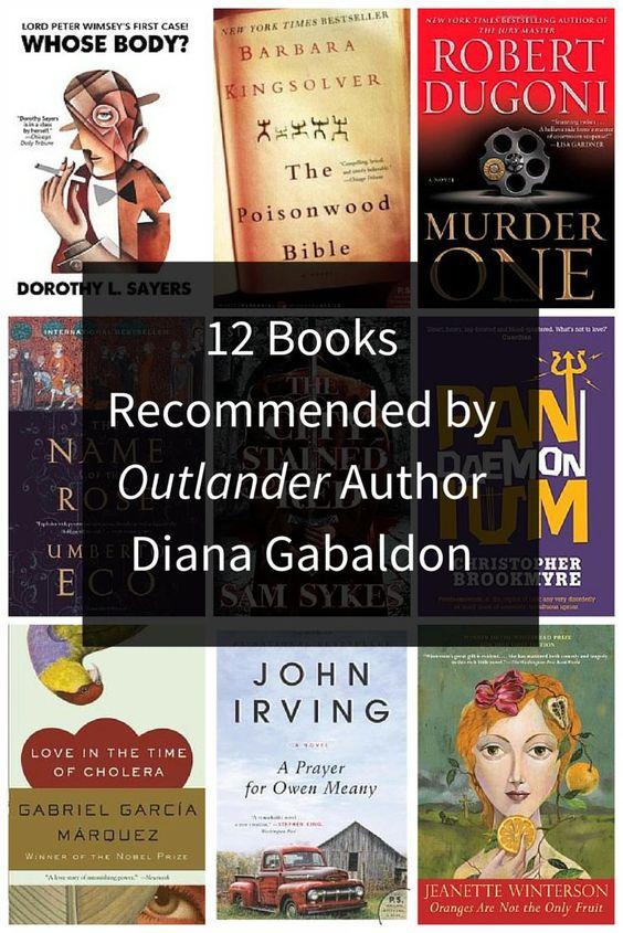 Diana Gabaldon book recommendations