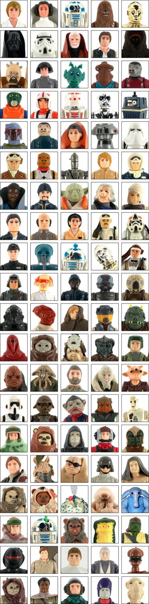 Have you seen any of these Jedis, Rebels, Droids, Ewoks, or other Aliens? Are you curious what they might be worth today? Check out our free Vintage Star Wars price guide today.