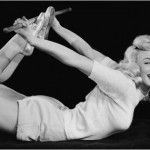 As if you needed more reasons to do yoga: Marilyn Monroe