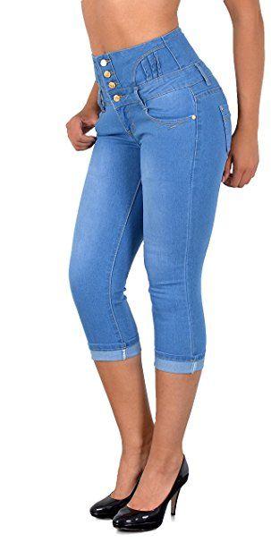 Damen Caprihose Baggy Sommerhose Jogginghose Sports Leggings Übergröße 40 42 44