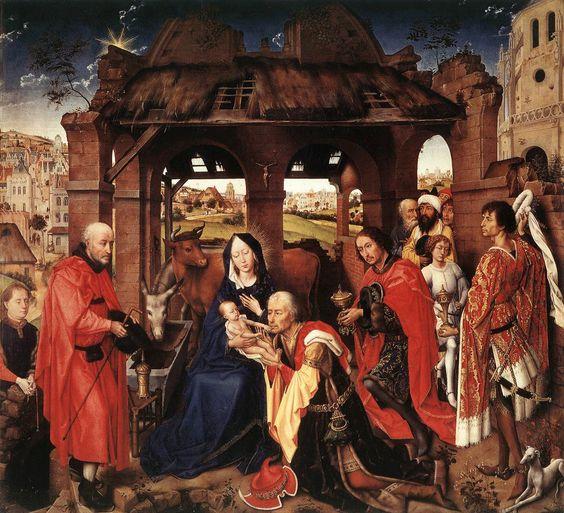 VAN DER WEYDEN Rogier - - ST COLUMBA ALTARPIECE c. 1455 - central panel
