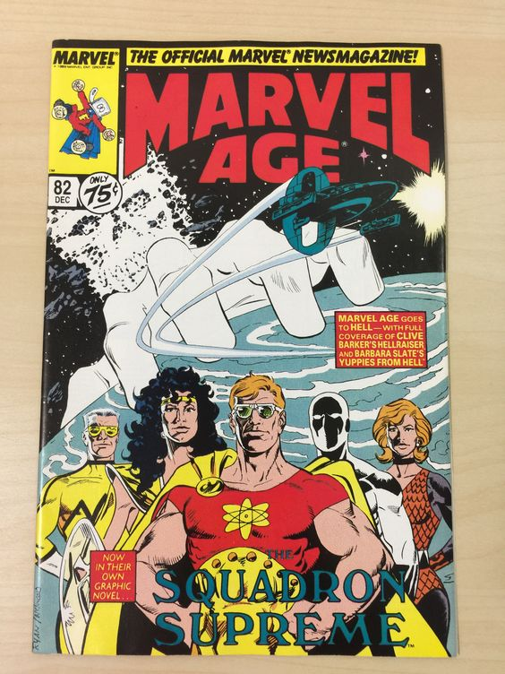 Marvel Age #82 ***Early Cable Appearance***