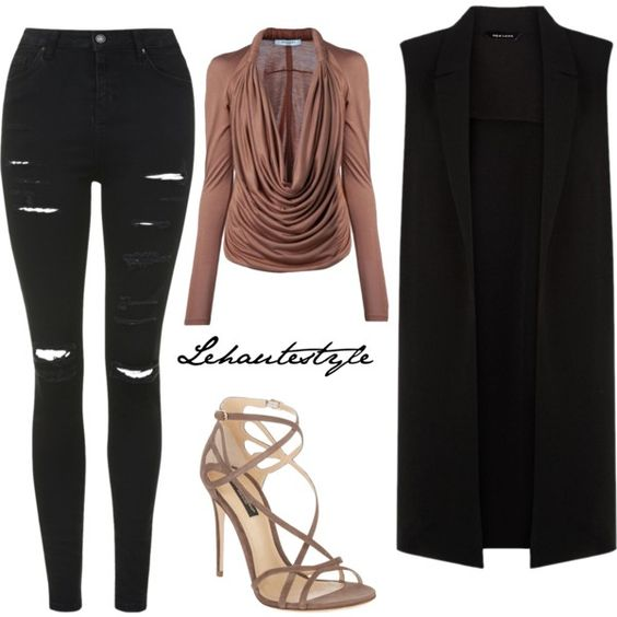 2015 #54 by lehautestyle on Polyvore featuring polyvore, fashion, style, Givenchy, Topshop and Dolce&Gabbana