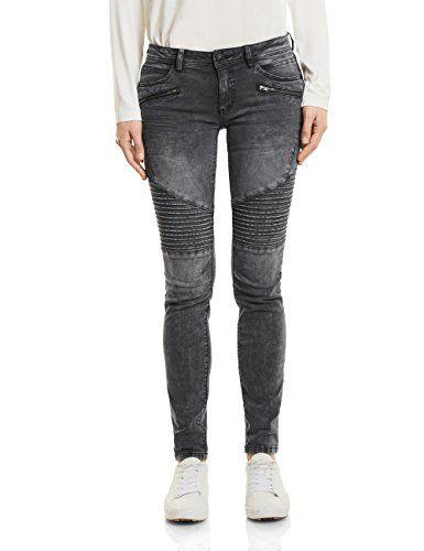 Jeans Denim Slim Fit Used Design Modell 5117 Grau Herren OneRedox