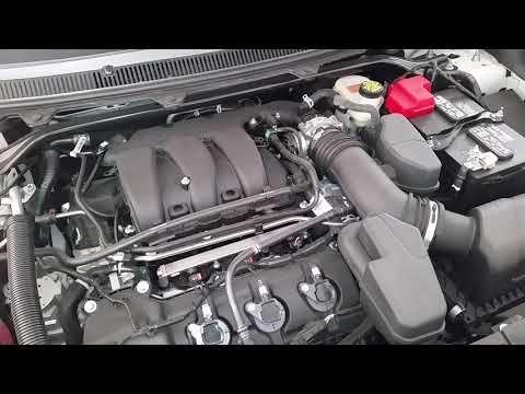 2019 Ford Flex Duratec 35 3 5l V6 Engine Idling After Oil Change