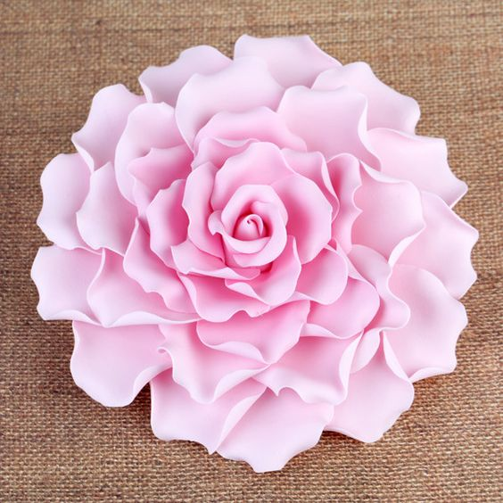 Extra Large 6 Gumpaste Rose Sugarflower Cake Topper Perfect For Cake Decorating Fondant Cakes