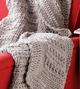 Crocheted Lap Afghan Crocheting Crafts Country Woman ...