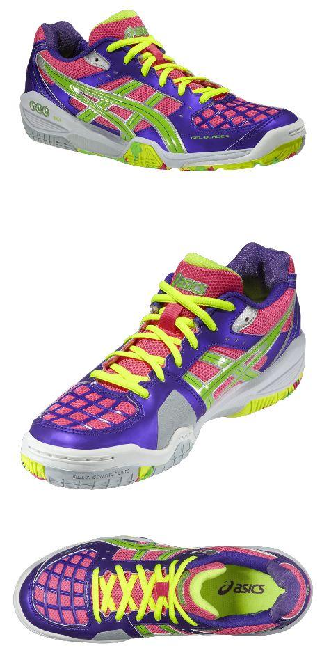 ASICS GEL-BLADE 4 GET CRAZY. My new floorball/ indoor shoes :D