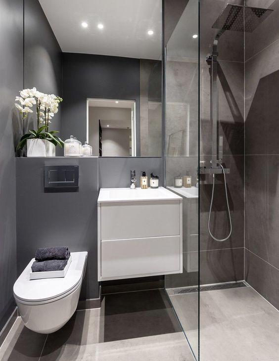 35 Modern And Small Bathroom Decoration Ideas Molitsy Blog Modern Bathroom Small Bathroom Decor Small Bathroom