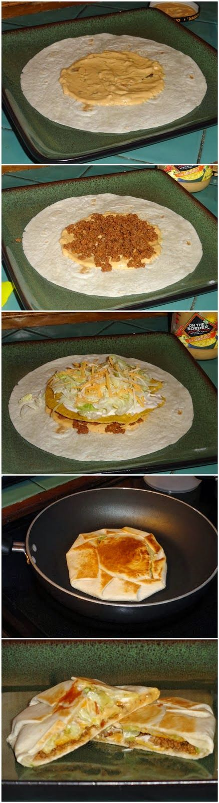 Yummy Crunchwrap Supremes Crunchwrap Supremes, Homemade Yummy! Its so easy I wonder why I had never thought to do it at home before. You can completely customize these to anyones liking and theyve made great dinners for when only one or two of us are home. So quick and easy!: