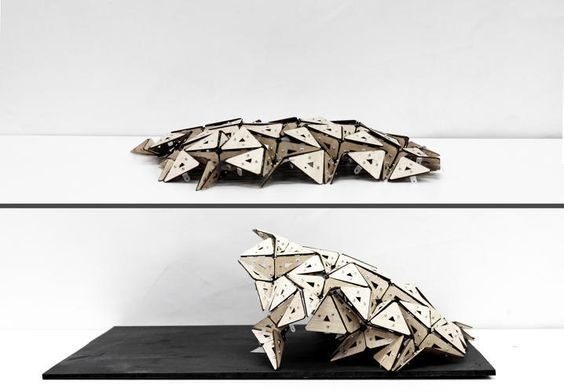 This Origami-Inspired Office Design Expands, Contracts, And Changes Its Shape | Co.Exist | ideas + impact
