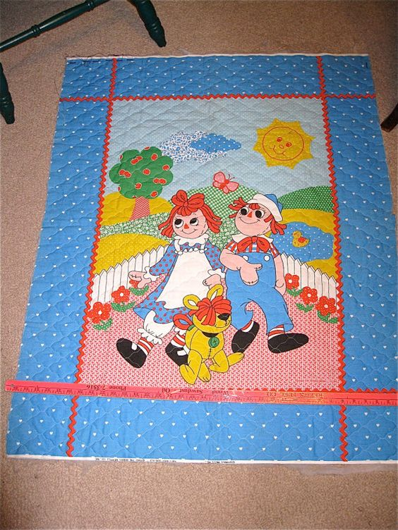 Raggedy Ann Baby Quilts And Quilt On Pinterest