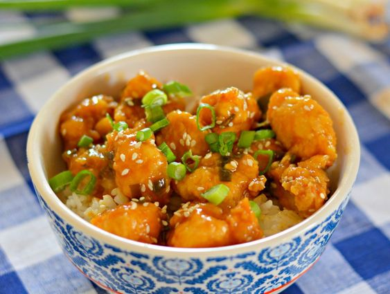 Orange frango Receita - Melhor do Panda Express