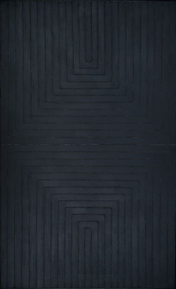 The Black Paintings (1959) - Frank Stella