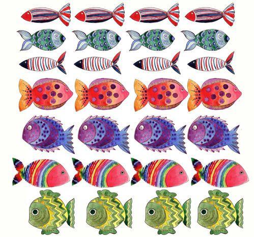 image de poisson d'eau douce a imprimer