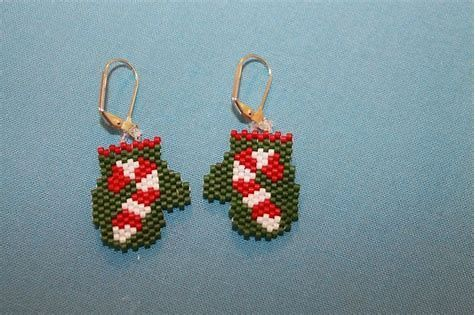 Image Result For Free Christmas Beaded Earring Patterns Brick