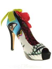 Iron Fist White Ladykiller Platform Womens Shoe