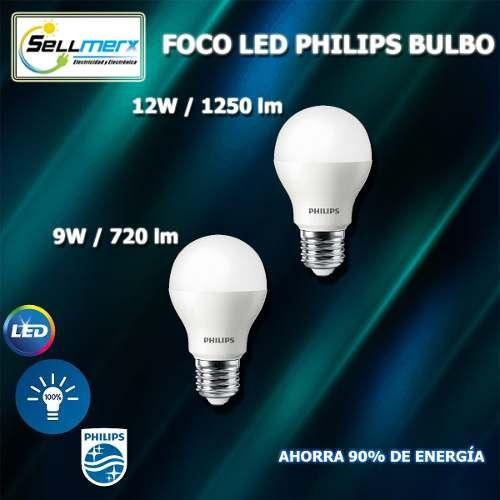 Foco Led Philips Bulbo Con Imagenes Focos Fluorescentes Led Ser De Luz