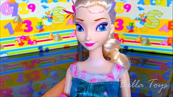 Beautiful Disney Frozen Elsa doll! - Toy review for kids - Bella Toys  https://youtu.be/lxZUGdJ-Cas