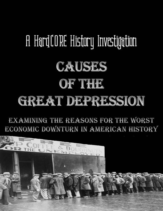 What are the basic causes of the great depression after 1929?