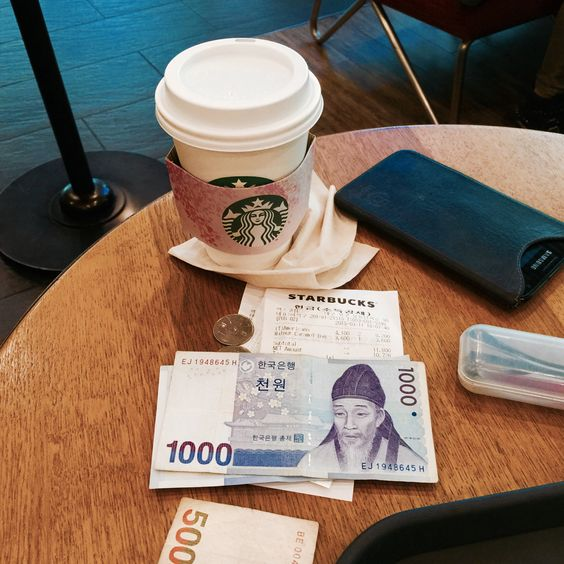 my first morning coffee in Daegu foto aaronvintage march 03/10