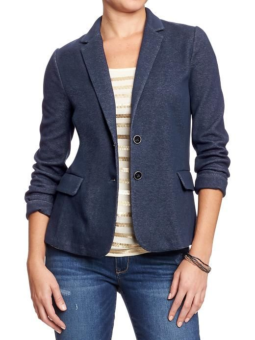 Women's Ponte-Knit Blazers Product Image | Blazers | Pinterest ...