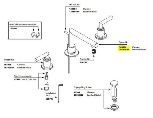 Moen 165906bn Replacement Part More Details Can Be Found By Clicking On The Image Bathroom Sink Faucets Moen Sink Faucets
