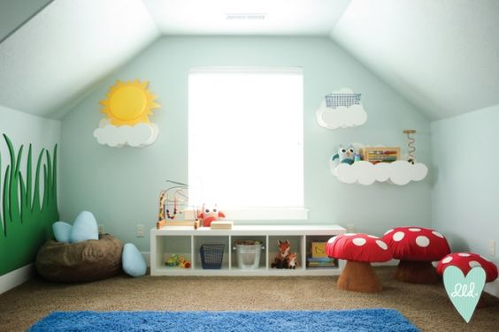 Woodland Playroom-- Design Loves Detail