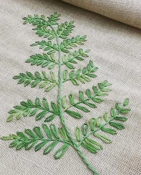 Leaf Stitch Tutorial : stitch, tutorial, Chimbela, Villafañe, Sorted, Embroidery, Stitches, Tutorial,, Designs,