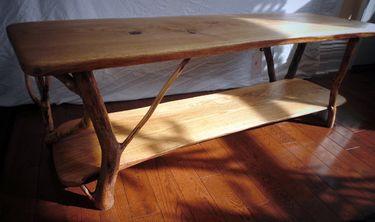 Coffee Table White Oak, Set of 3