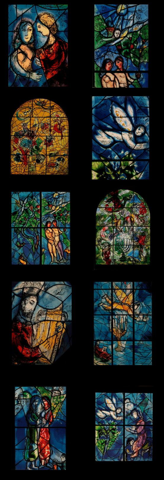 Marc Chagall - Between Surrealism & NeoPrimitivism - Vitraux - Stained Glass