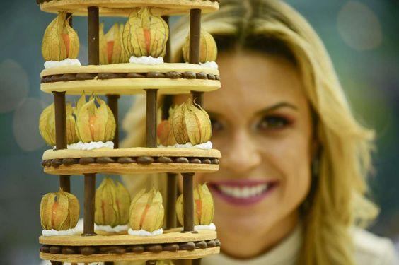 Bake Off Brasil Aprenda A Receita Da Torre De Biscoitos