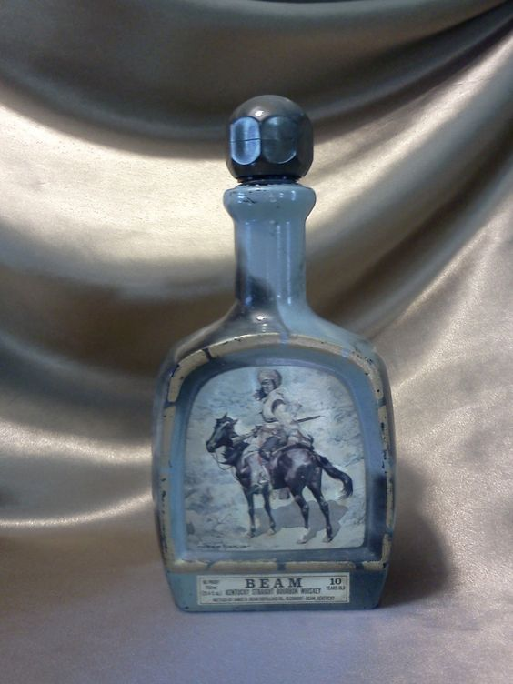 Jim Beam Bourbon Whiskey Decanter by loukin65 on Etsy