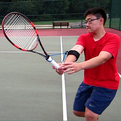 Tennis Swing Wrist Training Aid For Forehands Backhands Volleys And Serves Permawrist Tennis Swing Fitness Gadgets