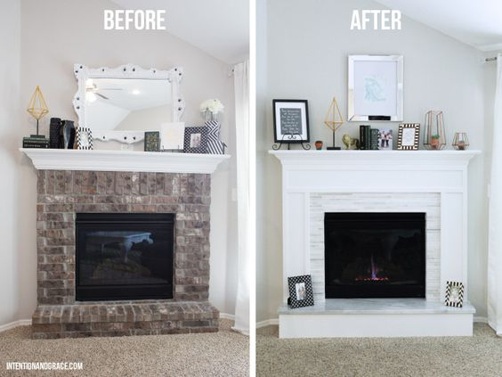 Modern Fireplaces Fireplaces And Bricks On Pinterest