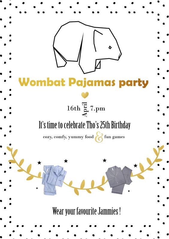 Small Pajamas Party Decoration Ideas - Wombatlifestyle