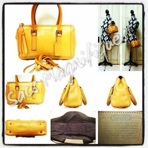 #Vintage #Coach #Handbags @Wendy Werley-Williams.sacsmagnifiques.blogspot.com
