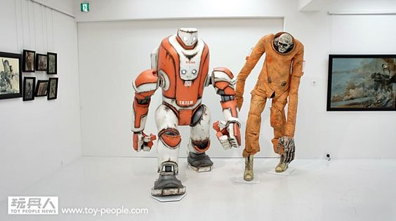 threeA – JAPAN VENTURE【2015 年日本展。完整展覽品】WITH SMILES ON OUR LIPS | 玩具人Toy People News