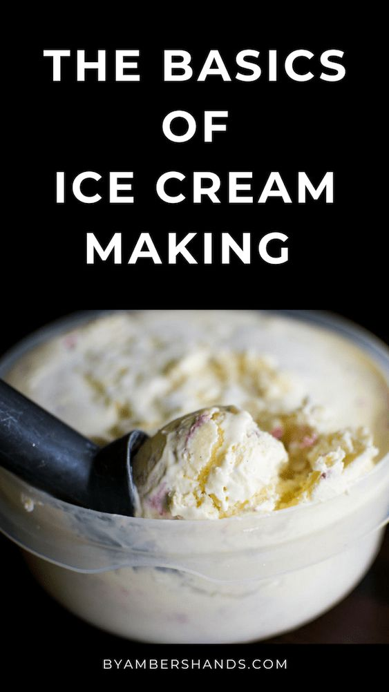 Homemade Ice Cream Basics: All You Ever Wanted To Know