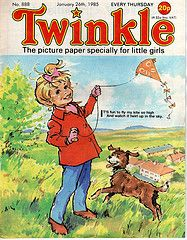 The Twinkle Comic .. for all little girls Lol
