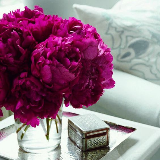 I love everything neutrally coloured but flowers, I love them bright and beautiful ! #ILovePeonies