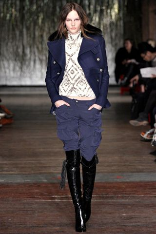 Altuzarra Fall 2012 - those boots are AWESOME....