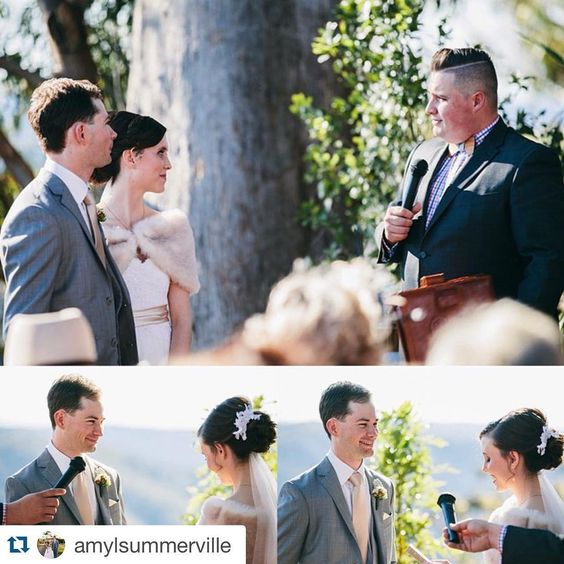 Entries close at midnight tonight!! If you've been #marriedbyjosh then you can #winyourweddingvows thanks to @daniellesweeneydesign!  Win a #calligraphy print of your wedding vows by posting a photo of you exchanging vows with the hashtag #winyourweddingvows!  #Repost @amylsummerville  Flash back to this glorious winter day when we were #marriedbyjosh on what only can be described as the greatest day of my life! #winyourweddingvows