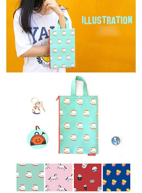 """""""Some"""" Illustrations Pouch (4 styles)"""