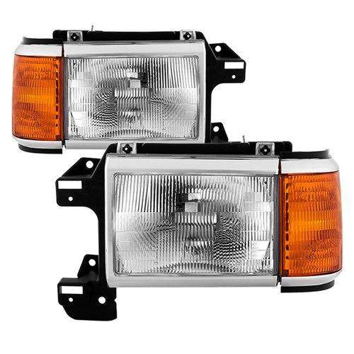 xTune for 92-96 F150 92-96 Euro Corner Lights