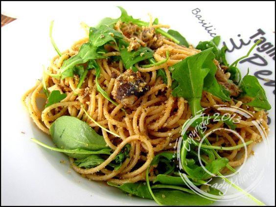 Spaghetti à la sardine de Gordon Ramsay