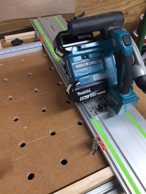 Custom Mft Work Station Festool Workstation Festool Tools