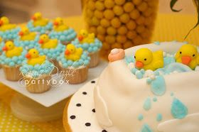 Razzle Dazzle Party Box: Baby Shower: Rubber Ducky